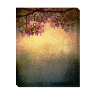 Treetop Floral Oversized Gallery Wrapped Canvas