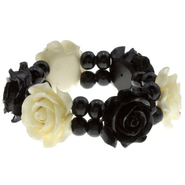 Multi Rose Stretch Bracelet (India)