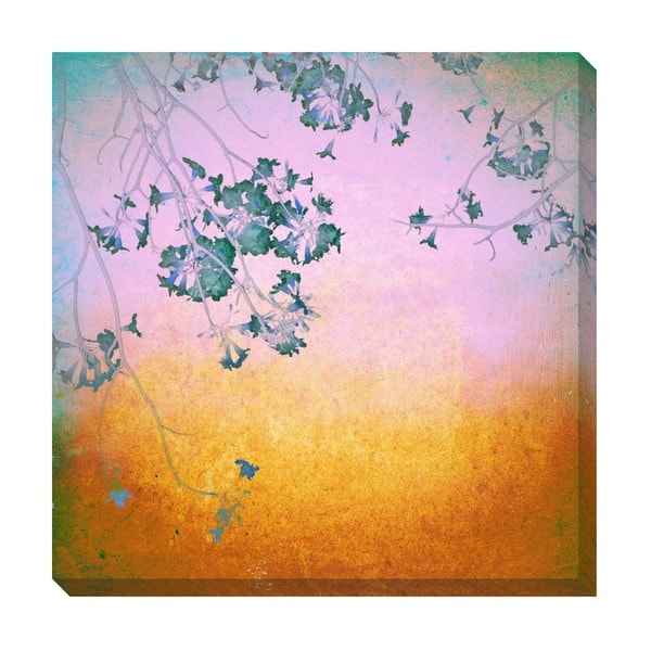 Gallery Direct Flower Blossom Oversized Gallery Wrapped Canvas
