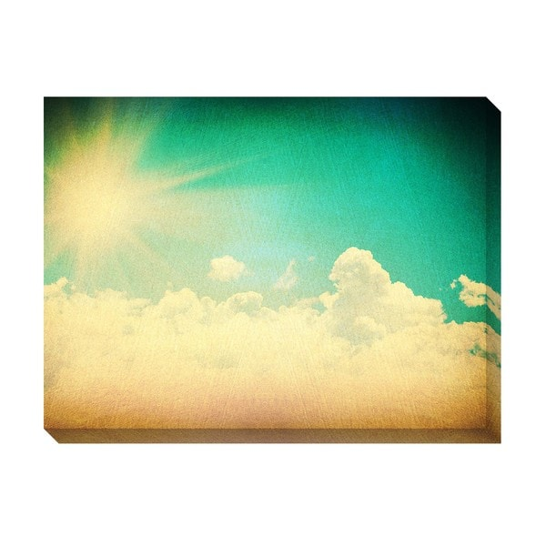 Gallery Direct Clouds V Oversized Gallery Wrapped Canvas