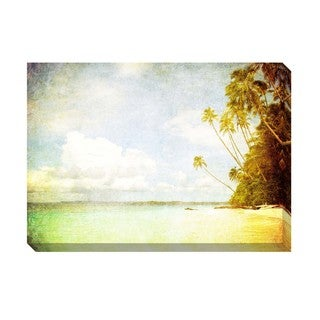 Gallery Direct Tropical Vintage III Oversized Gallery Wrapped Canvas