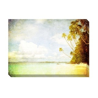 Tropical Vintage III Oversized Gallery Wrapped Canvas