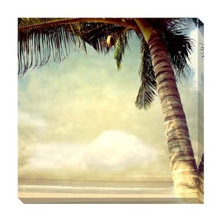 Gallery Direct Tropical Vintage IV Oversized Gallery Wrapped Canvas