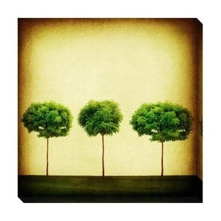 Triple Tree Oversized Gallery Wrapped Canvas
