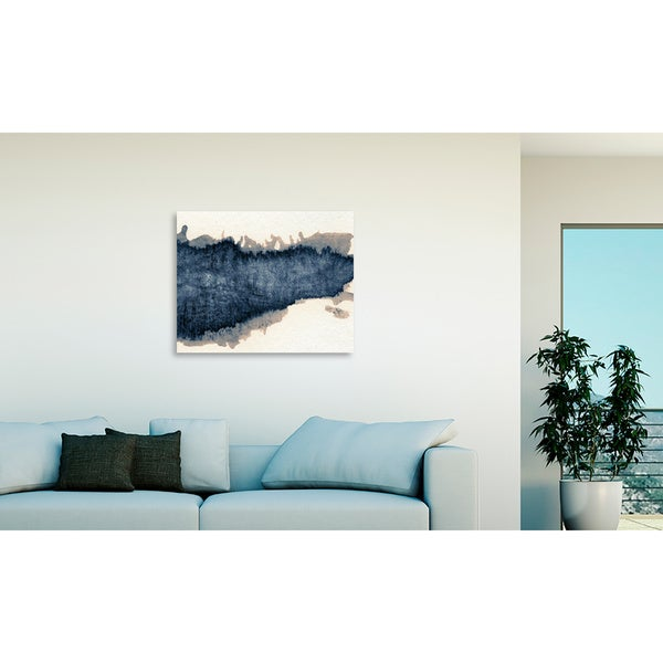 Ink Pattern I Oversized Gallery Wrapped Canvas