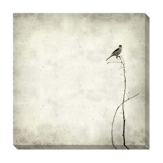 Bird Black and White Oversized Gallery Wrapped Canvas