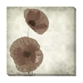 Gallery Direct Poppy Oversized Gallery Wrapped Canvas