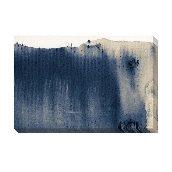 Ink Pattern II Oversized Gallery Wrapped Canvas