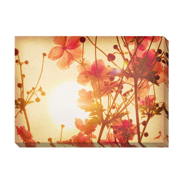 Vintage Floral Oversized Gallery Wrapped Canvas