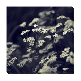 Gallery Direct Black & White Floral IV Oversized Gallery Wrapped Canvas