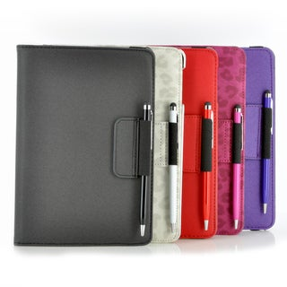 Premium 360-degree Folding Stand Case with Stylus Pen for Apple iPad Mini