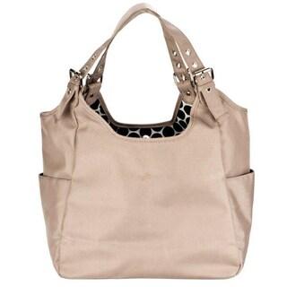 JP Lizzy Sandstone Satchel Diaper Bag