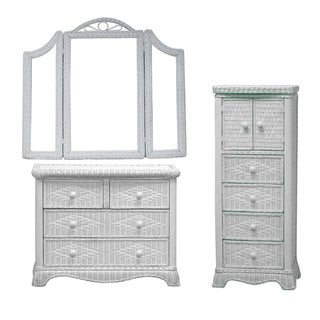 Lynn-Ensemble Bedroom Dresser/ Mirror/ Chest Set