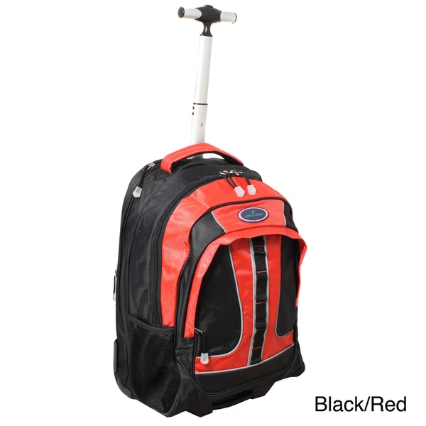 World Traveler Rolling Upright Computer Laptop Backpack