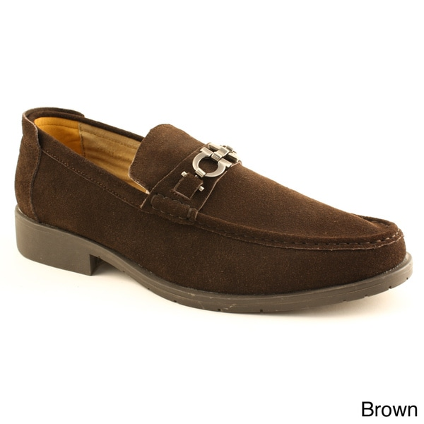 Zota Men's Suedette Buckled Loafers