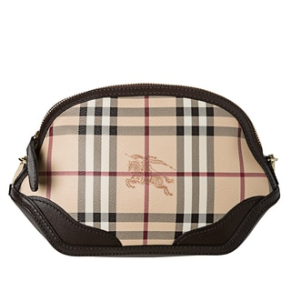 Burberry 'Orchard' Extra Small Haymarket Crossbody Bag