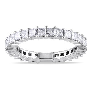14k White Gold 1 4/5ct TDW Diamond Eternity Ring (G-H, SI1-SI2)
