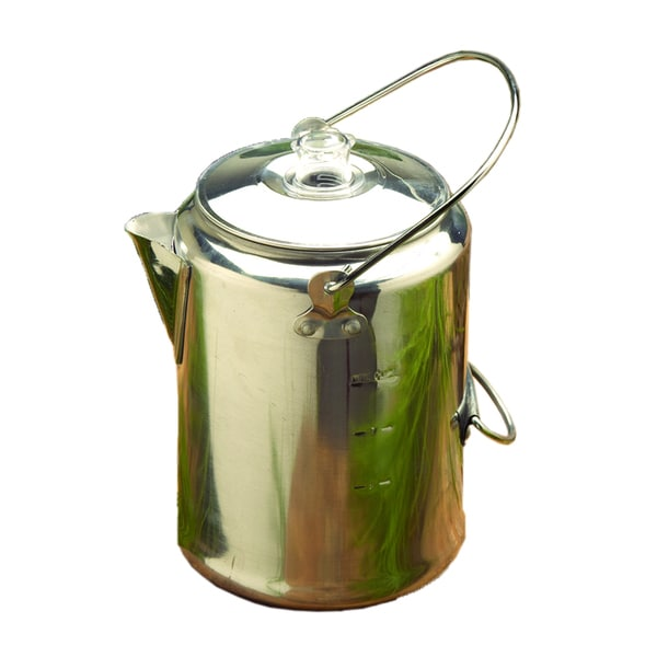 Texsport Aluminum 9 Cup Percolator 10568412