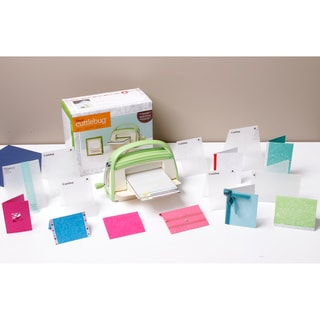 Cricut Cuttlebug Die Cutter and Embossing Machine with Bonus Folders