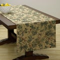 Extra Wide Italian Woven Monkey Table Runner 95 x 26 inches