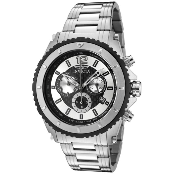 Invicta Men's 'Invicta II' Stainless Steel Watch