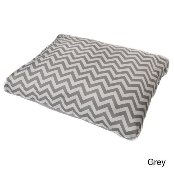 Indoor / Outdoor Chevron Pet Bed