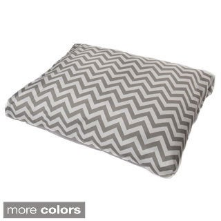 Indoor / Outdoor Chevron Pet Bed