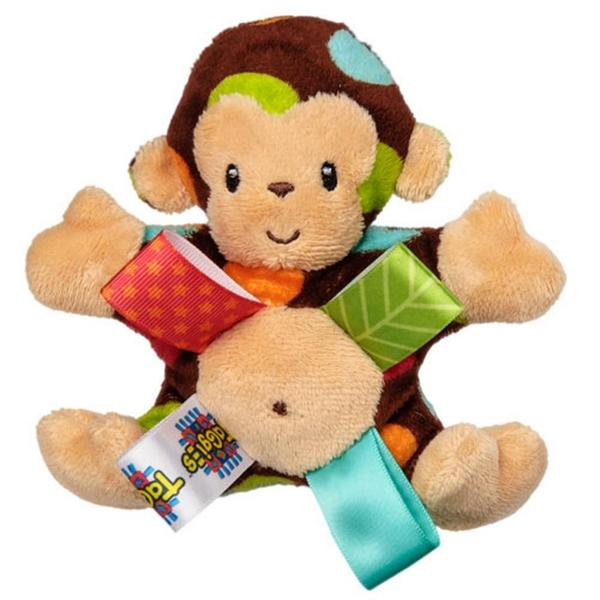 Mary Meyer Taggies Dazzle Dots Monkey Rattle 10568793