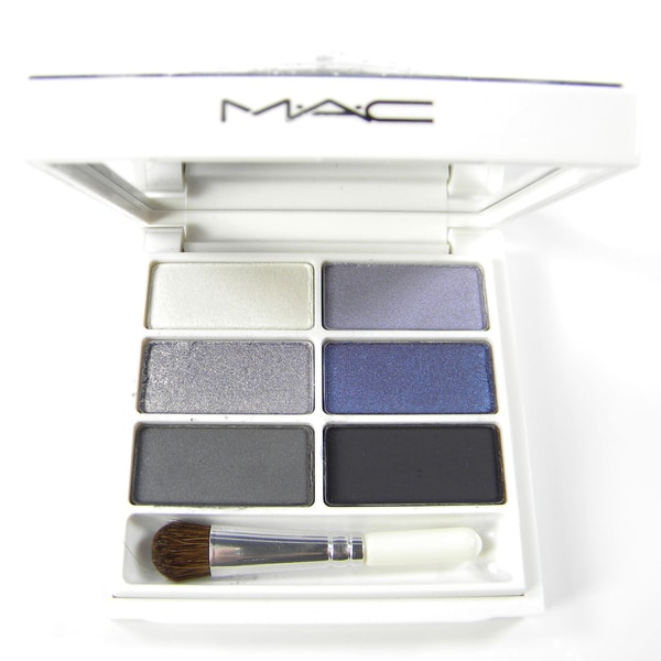 MAC SnowGlobe Cool 6-Color Eye Shadow Palette (Unboxed)