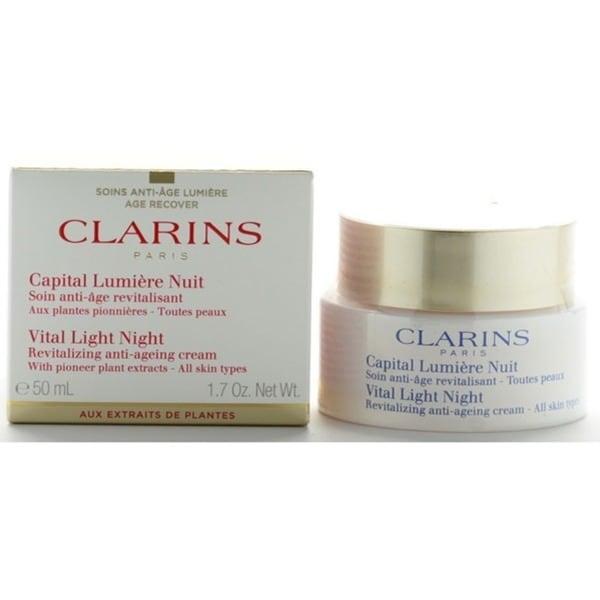 Clarins Vital Light Night Revitalizing Anti-Aging Cream