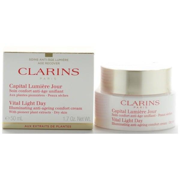 Clarins Vital Light Day Illuminating Anti-Ageing Comfort Cream