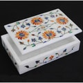 Marble Rectangular Jewelry Box (India)