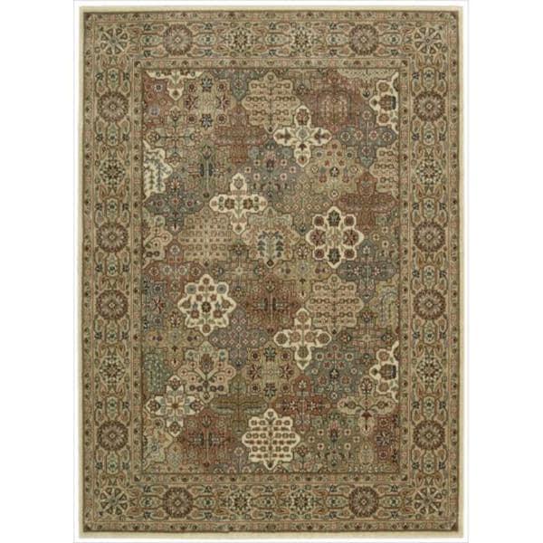Traditional Cambridge Persian Splendor Beige Rug (9'6 x 13')