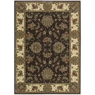 Cambridge Persian Splendor Chocolate Rug (5'3 x 7'4)