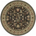 Living Treasures Midnight Rug (5'10 Round)