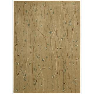 Cambridge Budding Vine Gold Rug (7'9 x 10'10)