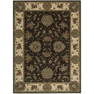 Cambridge Persian Splendor Chocolate Rug (9'6 x 13')
