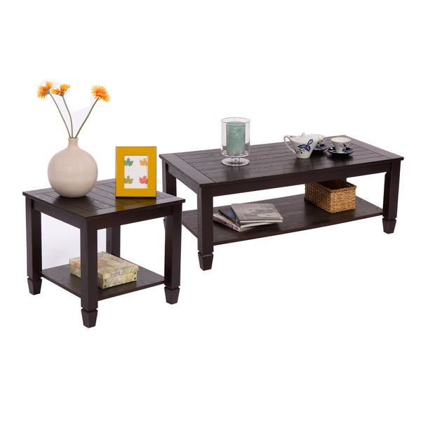 Simple Living Ethan Cocktail And End Table Set Overstock Shopping Great Deals On Simple