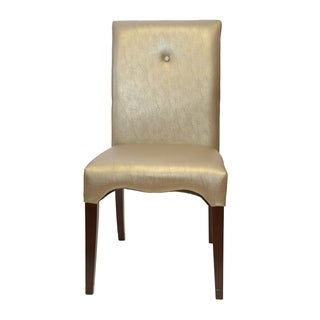 Scroll Dark Brown Dining Chairs (Set of 2)