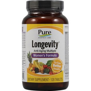 Pure Essence Labs Longevity Women's Formula (120 Tablets)