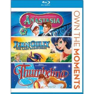Anastasia/Ferngully/Thumbelina (Blu-ray Disc) 10569601