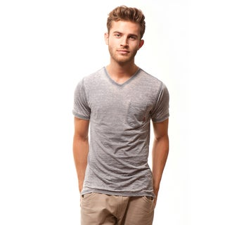 191 Unlimited Men's Slim Fit Burnout Tee