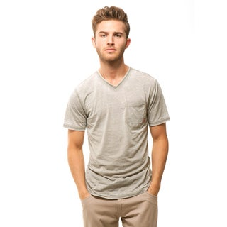 191 Unlimited Men's Slim Fit Burnout Pocket Tee