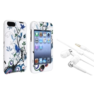 BasAcc Flower Case/ Headset for Apple iPod Touch Generation 2/ 3