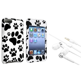 INSTEN Paw iPod Case Cover/ Headset for Apple iPod Touch Generation 2/ 3