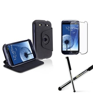 BasAcc Case/ Protector/ Stylus for Samsung Galaxy S III/ S3