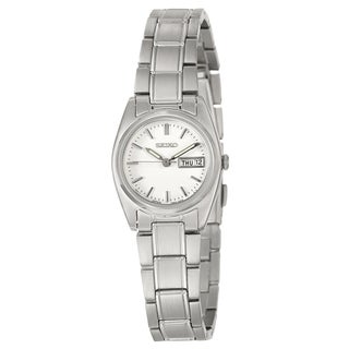 Seiko Women's SXA117 'Dress' Stainless Steel White Dial Watch