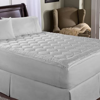 Restonic Luxury Stripe Mattress Enhancer