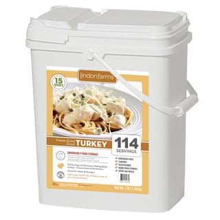Lindon Farms Freeze Dried Diced Turkey
