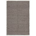 Hand-loomed Moroccan Brown Cotton Rug (2'6 x 4')